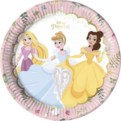 Тарелки Принцессы Правда, 8 штук 1502-3591