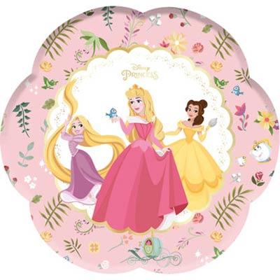Тарелки Принцессы Правда цветок, 4 штуки 1502-3603