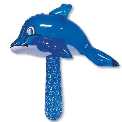 Игрушка надувная Молоток Дельфин 50см 1503-0302