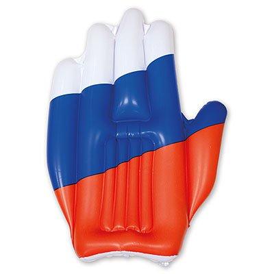 Надувная рука болельщика 50 см 1503-0304