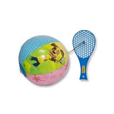 Игрушка надувная Барбоскины Мяч с лаптой 1503-0398