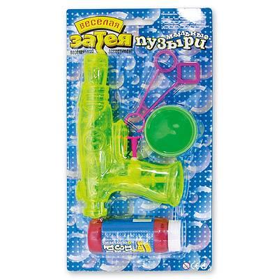 Мыльные пузыри набор Пистолет водяной 1504-0027