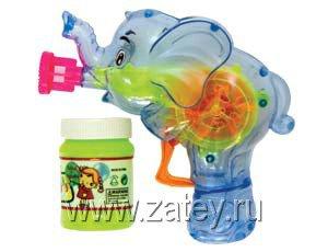 Игрушка с мыльными пузырями Слоник 1504-0278