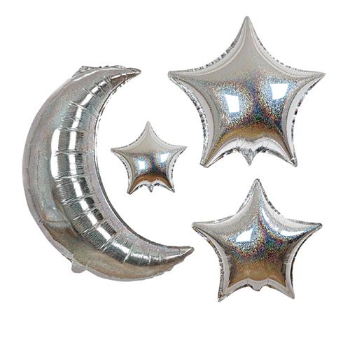 """Воздушные шары """"Месяц и звезды"""" 150571"""