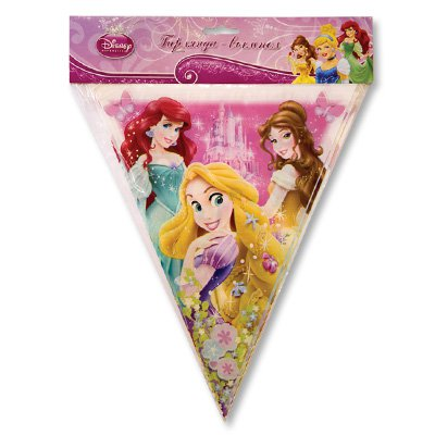 Гирлянда-вымпел Disney Принцессы 360см/А 1505-0565