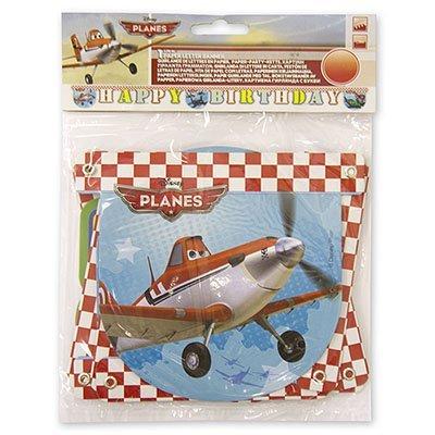 Гирлянда-буквы Самолеты, 2,2 м 1505-0583