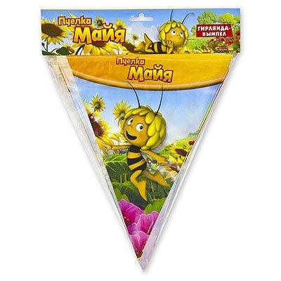 Гирлянда-вымпел Пчелка Майя, 360 см 1505-0680
