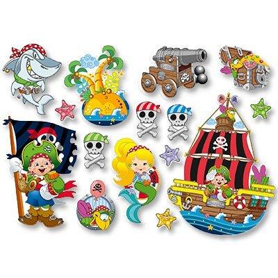 Баннер-комплект Пират Йо-хо-хо 15шт/М 1505-0744