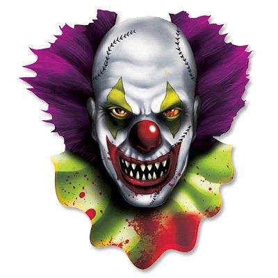 Баннер Жуткий карнавал Клоун, 34 см 1505-0944