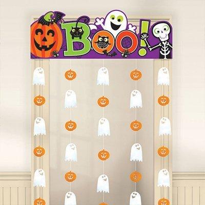 Украшение на дверь Забавный Хэллоуин 1505-0946
