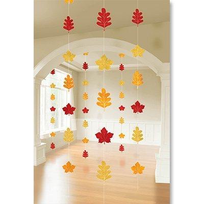 Гирлянда вертик Осенние листья, 2,1м 6шт 1505-0995