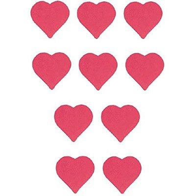 Баннер-комплект сердца красные, 10 штук 1505-1264
