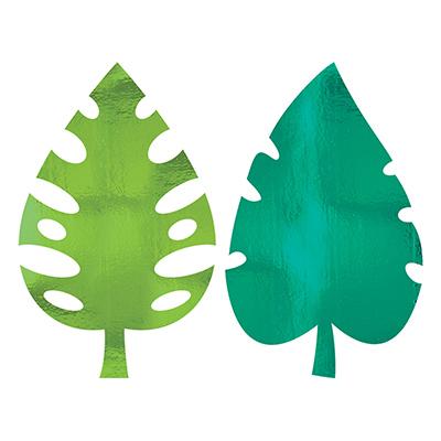 Баннеры фольга Пальмовый лист, 40 см 1505-1412
