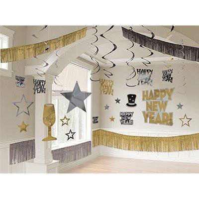 Комплект баннеров, гирлянд, спиралей для оформления зала 1506-0174