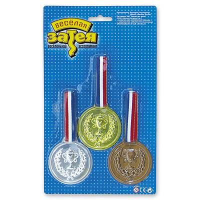Спортивные детские медали 1, 2, 3 место 1507-0415