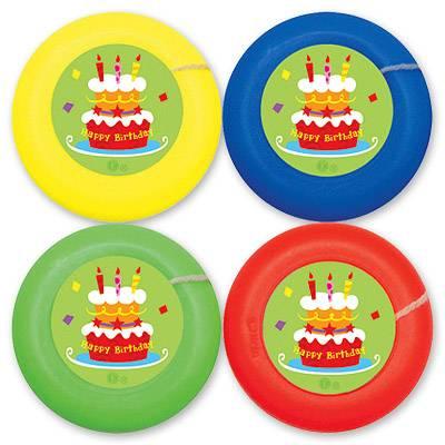 Йо-йо на веревке Торт Birthday 4шт 1507-0597