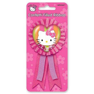 Значок Hello Kitty с розовой лентой/A 1507-0673