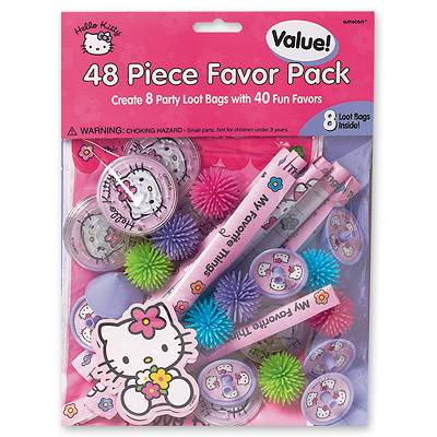 Игрушки для подарков Hello Kitty,8персон 1507-0711