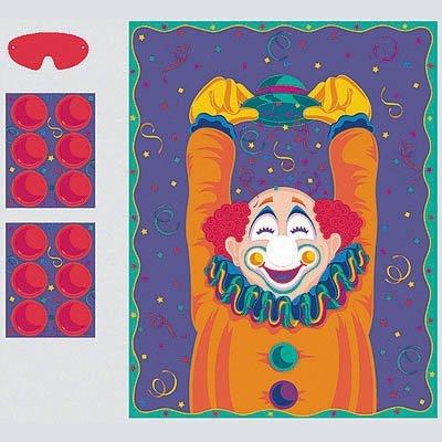 Игра с наклейками Веселый Клоун 1507-0770