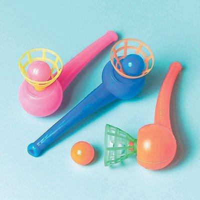 Игрушки Трубочка с шариком, 12 штук 1507-0771
