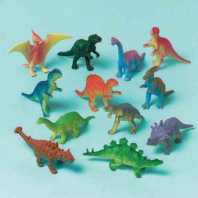 Игрушки Динозаврики, 12 штук 1507-0784
