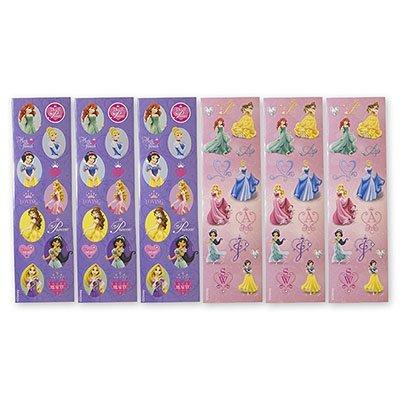 Наклейки Disney Принцессы, 8 листов 1507-0823