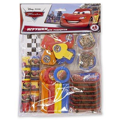 Игрушки для подарков Disney Тачки, 48 шт 1507-0847