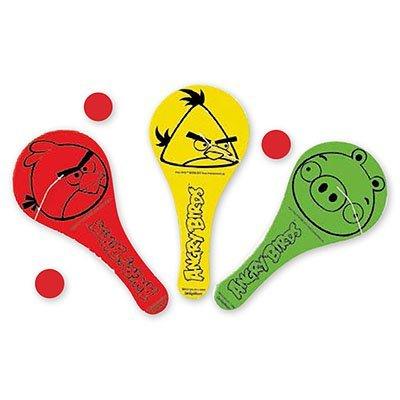 Игра лапта с мячиком Angry Birds, 12 шт. 1507-0873
