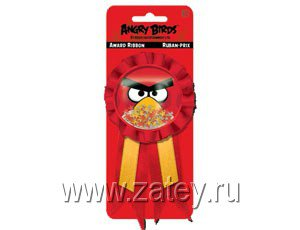 Значок Angry Birds с лентой/A 1507-0877