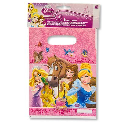 Пакет п/э Принцессы и зверушки 6шт/Р 1507-0961