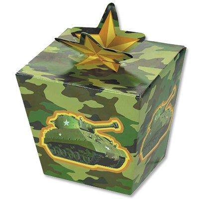 Коробочки подарочные Камуфляж, 8 штук 1507-0983