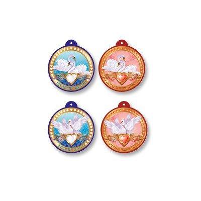Медали свадебные Классика, ассорти, 9 шт 1507-0999