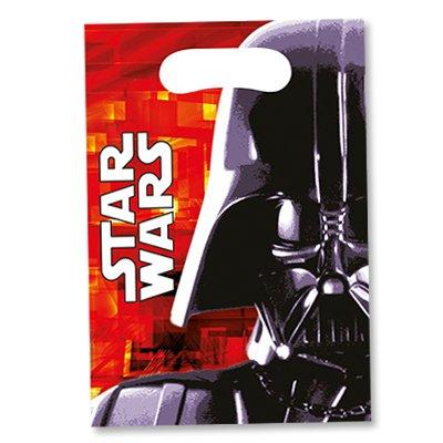 Пакеты для сувениров Звездные Войны, 6шт