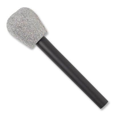 Микрофон пластик блеск 1507-1173