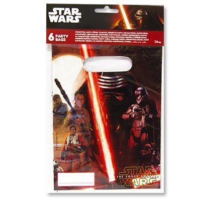 Пакеты Звёздные Войны-7, 6 штук 1507-1209