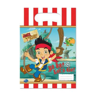 Пакеты для сувениров Пират Джейк, 6 штук 1507-1305