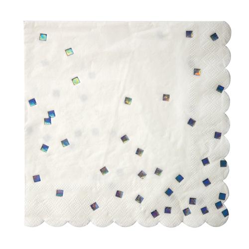 """Салфетки """"Голографические кубики"""", большие 151156"""