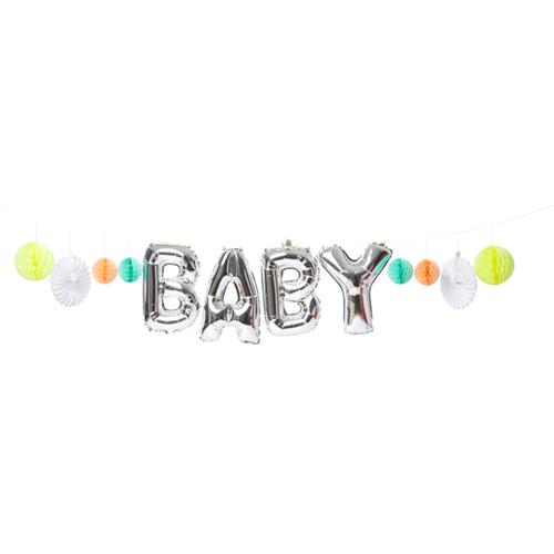 """Воздушные шары в виде гирлянды """"Малыш"""" 154567"""