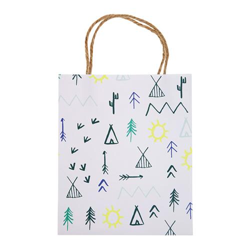 """Пакеты для подарков гостям """"Лес"""" 156313"""