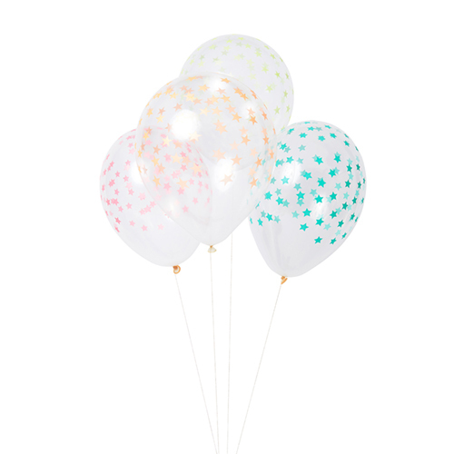 """Воздушные шары """"Звезды"""", разноцветные 158536"""