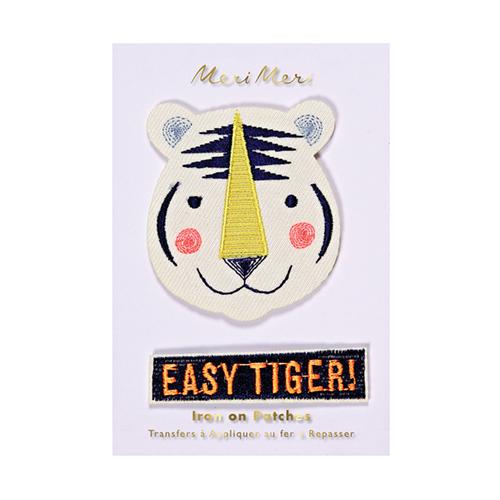 """Нашивки на одежду """"Тигр"""" 158671"""