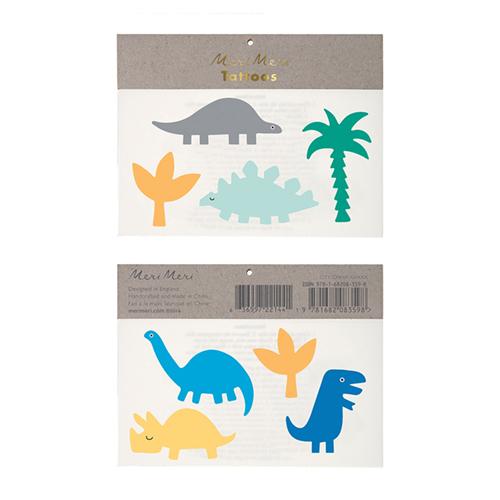 """Детский набор татуировок """"Динозавры"""" 159733"""