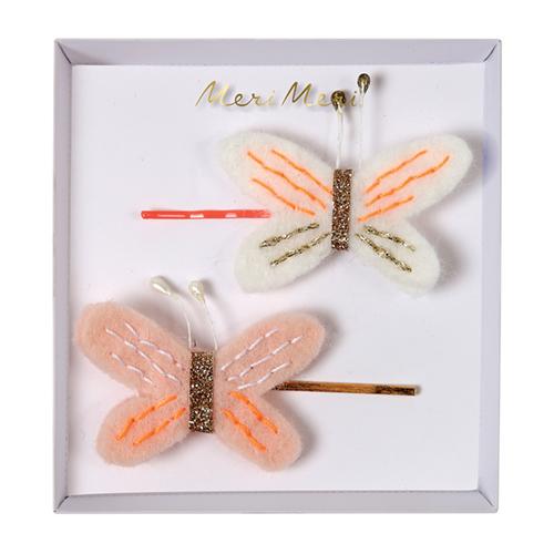 Детские заколки в виде бабочки для волос 160084