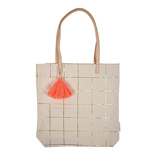 Эко-сумка для продуктов в клетку 160606