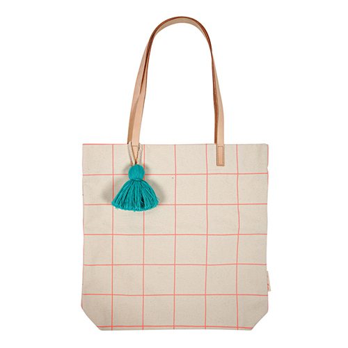 Эко-сумка (пакет), коралловый, неон 160615