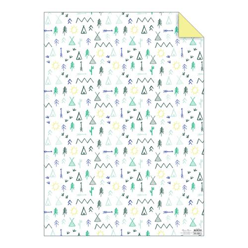 """Упаковочная бумага """"Кемпинг"""" 160741"""