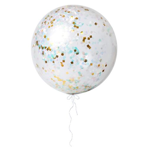 """Воздушные шары """"Конфетти"""", перламутр, большие"""