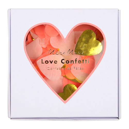 Конфетти в форме сердечек 167077