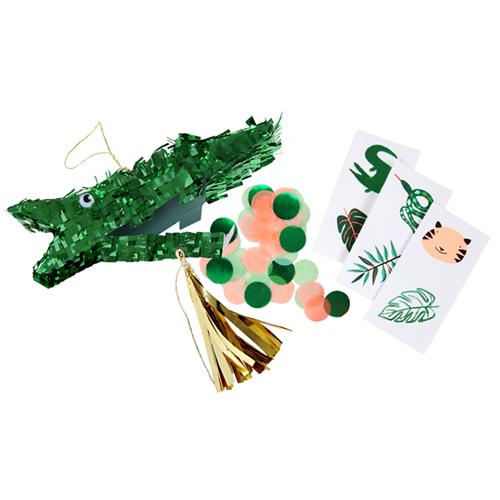"""Мини-пиньяты для подарков гостям """"Крокодил"""", 3 шт. 167977"""