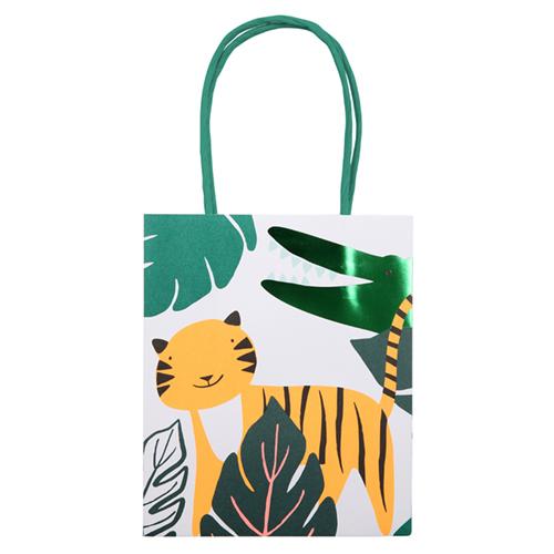 """Пакеты для подарков гостям """"Джунгли"""", 8 шт.. 169633"""